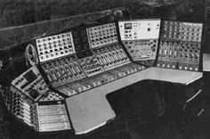 Helios wraparound mixer at Olympic Studios