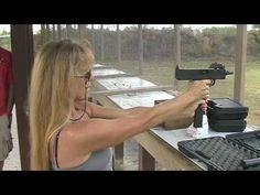 Girls Firing Mac-11 9mm Pistol - YouTube