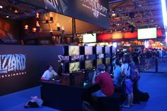 Starcraft Booth