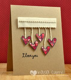 The Nature of Crafty Things: Paper Smooches Sparks challenge