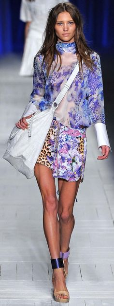 I like it.  I would try it on....... Just Cavalli Spring Summer 2013 Ready to Wear Collection