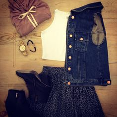 Wednesday outfit of the day! ❤