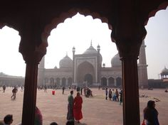 Jama Masjid, Delhi's biggest mosque. More in the article