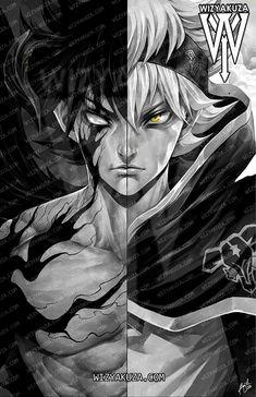 Asta Black Clover _ Fanart by. Manga Anime One Piece, Me Anime, Fanarts Anime, Anime Demon, Anime Naruto, Anime Characters, Wizyakuza Anime, Black Clover Wallpaper, Character Art