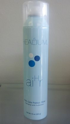 Helium  A line designed for Thin/Fine hair