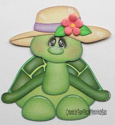 tartaruga Foam Crafts, Paper Crafts, Punch Art Cards, Paper Punch, Craft Punches, Paper Piecing Patterns, Scrapbook Embellishments, Animal Cards, Kids Cards