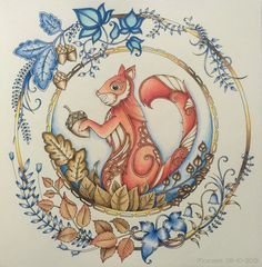 Just One Of My Favourites Coloured By Morena Vajak Find This Pin And More On Enchanted Forest Coloring Book