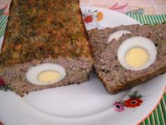 Lamb haggis for Easter - Drob de miel Hungarian Recipes, Romanian Recipes, Grilled Sausage, Romanian Food, Love Food, Lamb, Healthy Recipes, Healthy Food, Pasta