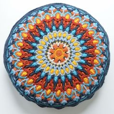 Spanish Mandala English pattern by Lilla Bjorn Crochet. Includes step-by-step pictures.