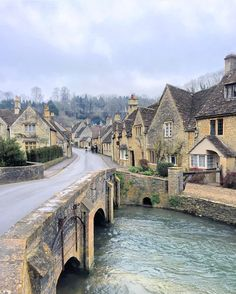 Castle Combe - the prettiest village in England The place where you feel like time stood still.""