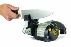Work Sharp Knife and Tool Sharpener Ken Onion Edition Precision Sharpening from to Premium Flexible Abrasive Belts Variable Speed Motor MultiPositioning Sharpening Module * See this excellent product. (This is an affiliate link ). Best Knife Sharpener, Electric Knife Sharpener, Trench Knife, Blade Sharpening, Best Pocket Knife, Pocket Knives, Metal Welding, Hard Metal, Knives And Tools