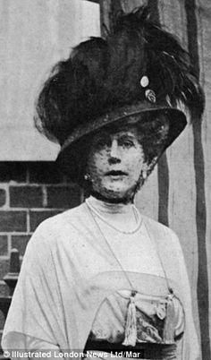 Alice Keppel (pictured) was accused of being a German spy during the Great War