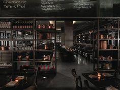 Favorite restaurant design. DBGB.