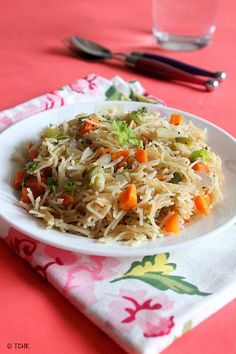 Semiya upma is one of the easiest breakfast recipes apart from regular Sooji upma  which I make quite often.This is a very simple recipe w...