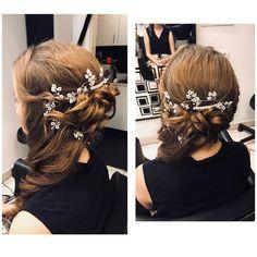 Igaz elmúlt már a nyár, de ezt a csodaszépet nem bírtuk ki, hogy ne mutassuk meg :D  #instafashion #beautysalon #hairstyle #hairstyles #hairs #hairsalons #hairbunmaker #hair #prilaga #hairfashion #hairbuns #hairsalon #hairdresser #hairbun #hairoftheday #konty #menyasszony #kiengedettkonty #magdiszepsegszalon Marvel, Fashion, Moda, Fashion Styles, Fashion Illustrations
