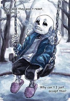 Image about snow in ♥Undertale♥ by Flame Raven Undertale Love, Undertale Fanart, Undertale Comic, Sans Frisk, Sans Sad, Toby Fox, Underswap, Fan Art, Bad Timing