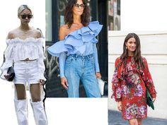 Fashion Bubbles - Moda como Arte, Cultura e Estilo de Vida Babados são tendência para o verão 2018 - Saiba tudo e aprenda como usar