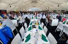 Der #Biatlohn in #Oberhof - auch 2014 ein voller Erfolg mit  mobilen Hospitality-Flächen von De Boer