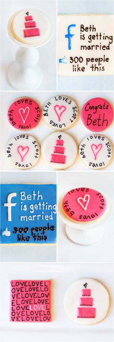 Awesome cookie s- bridal shower or bachelorette