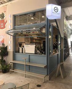 Cafe Shop Design, Coffee Shop Interior Design, Small Cafe Design, Kiosk Design, Coffee Design, Store Design, Coffee Shop Aesthetic, Small Coffee Shop, Shop Interiors
