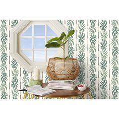Drew Barrymore Flower Home Vintage Palm Green Peel & Stick Wallpaper by Drew Barrymore Flower Home - Walmart.com