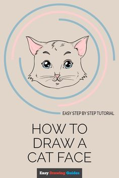 Learn How to Draw a Cat Face: Easy Step-by-Step Drawing Tutorial for Kids and Beginners. #Cat #Face #drawingtutorial #easydrawing. See the full tutorial at… More