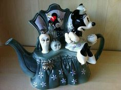 Mickey Minnie Mouse Teapot