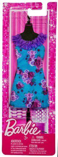 Rose Pring Neck-A-Line Dress: Barbie Fashionistas Fashion Pack