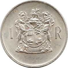 1 Rand, English Legends, Old Coins Value, Sell Coins, Valuable Coins, Coin Values, Commemorative Coins, World Coins, Rare Coins