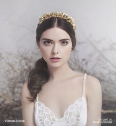 Viktoria Novak 2016 Bridal Couture Headpieces | World of Bridal