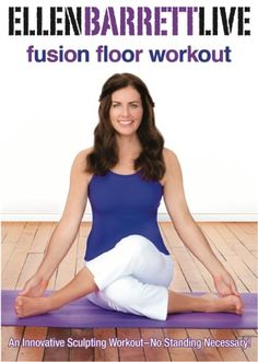 Fusion Floor Workout | Ellen Barrett Fusion Fitness  Cannot wait for this one! Coming 1 May...