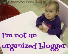 Great blog post from another blogger in the great big blogosphere:  I'd love to tell you how I plan my posts ahead of time and write them a few weeks, heck! a few days in advance but the truth is I don't. I usually write my entry the night before I post it. Why? My...