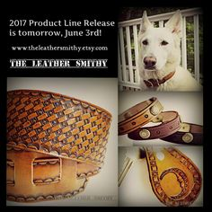 The 2017 Summer Product Line Release is tomorrow, June 3rd! #HandTooledLeather #CustomLeather #2017SummerProductLine