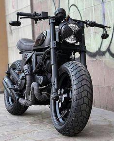 "Vintage Motorcycles 684969424551041201 - Ducati Scrambler 800 ""Nightowl"" Source by Ducati Custom, Ducati Scrambler Custom, Moto Bike, Cafe Racer Motorcycle, Motorcycle Outfit, Custom Bikes, Women Motorcycle, Motorcycle Helmets, Ducati Cafe Racer"