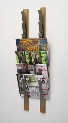 Idea for studio document storage. But large enough to hold 18x24 paper pads instead of magazines.