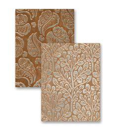 Spellbinders M-Bossabilities A4 Card Embossing Folder-Flora