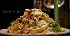 Pasta Met Paddenstoelen Quiche Lorraine, Foodies, Spaghetti, Snacks, Meat, Chicken, Ethnic Recipes, Noodle, Treats
