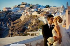Beach Weddings: A real Santorini, Greece wedding