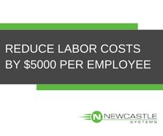 REDUCE LABOR COSTS BY $5000 PER EMPLOYEE Traditional POS vs Mobile POS