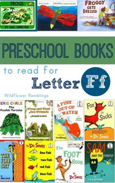 Here is our list of the best preschool books for the letter Ff!  Reading opens a world of imagination and creativity for our children. If I read to each of my children each day, both together and individually, than the day is a success! One of the main reasons why we do a letter of... Read More »