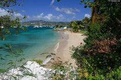 Plage du bourg Sainte-Anne - Martinique -