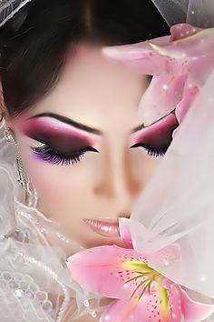 Arabic Hair and Makeup   Bridal Make up   Fashion World