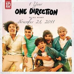 Happy Birthday 'Up All Night' :D now i will listen to it on repeat in honor of it