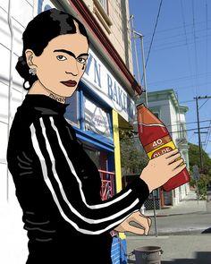 Ghetto Frida by Rio Yanez