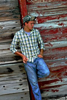 Country Boy/ Barn Wall / Old photography some ideas for y'all