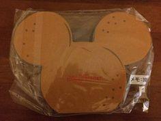 Disney / Mickey / Minnie / hamburger pattern Notepad / 3 picture _ image 2