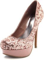 Rose gold wedding shoes - especially if your engagement/wedding rings are rose gold!