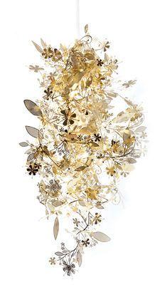 Abat-jour Garland Light / Acier Laiton - Artecnica - Pop Corn - Décoration et mobilier design avec Made in Design