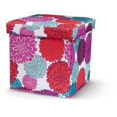 Mainstays Collapsible Storage Ottoman, Multiple Colors - Walmart.com