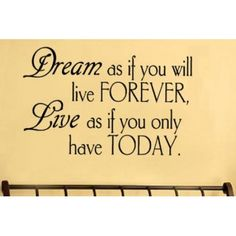 dream as if you vinyl wall lettering words sticky art home decor quotes stick